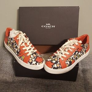 Coach Floral Sneakers